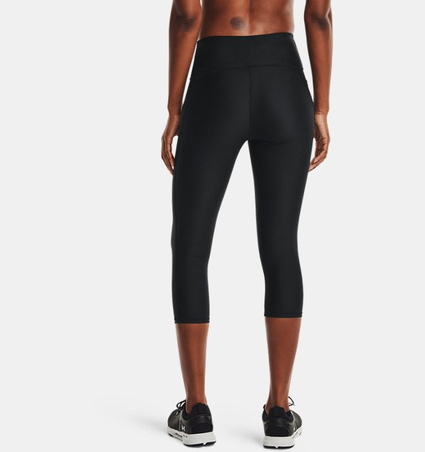 Womens HeatGear® Armour No-Slip Waistband Capris