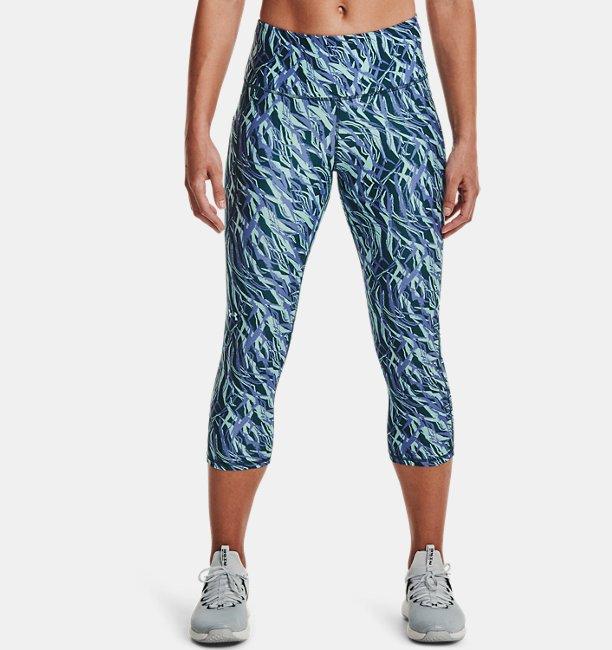 Pantalón ¾ HeatGear® Armour Printed para Mujer