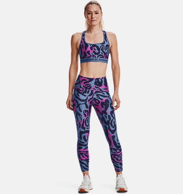 Damen HeatGear® Armour Printed 7/8 Leggings