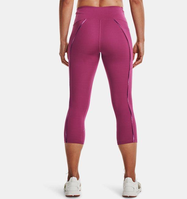 Womens UA RUSH™ No-Slip Waistband Scallop Capris