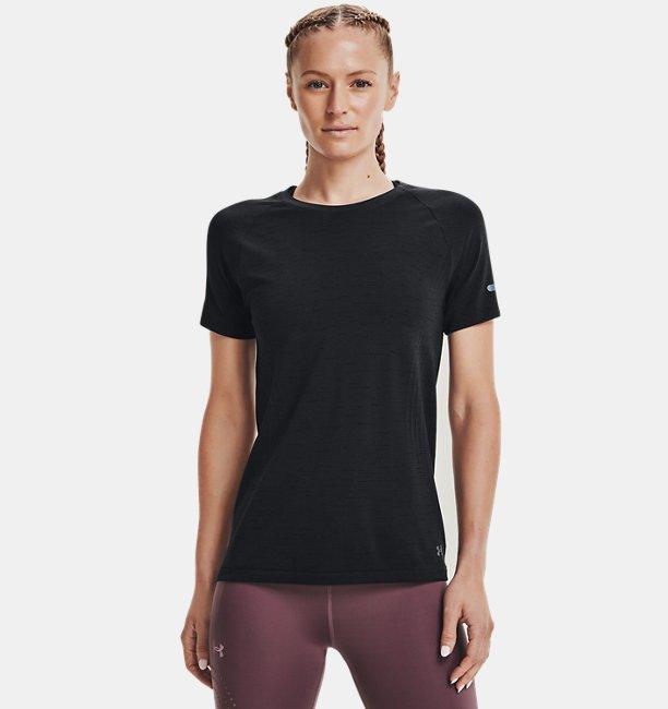 Womens UA Seamless Run Short Sleeve