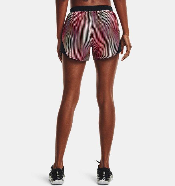 Womens UA Fly-By 2.0 Chroma Shorts