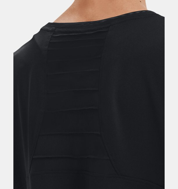 Womens HeatGear® Pintuck Short Sleeve