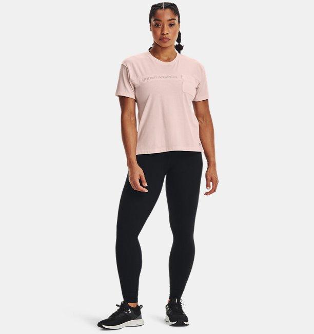 UAライブ グラフィック Tシャツ ポケット メッシュ(トレーニング/WOMEN)