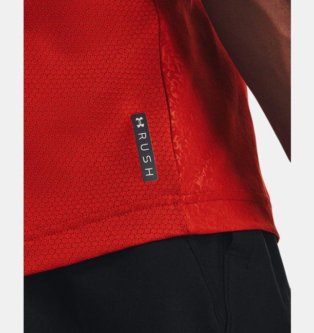 Mens UA RUSH™ HeatGear® 2.0 Emboss Short Sleeve