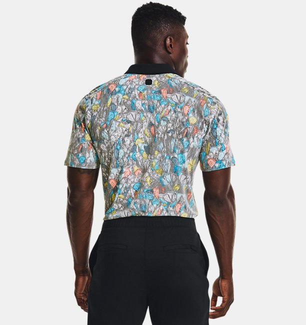 Mens Curry Monarch Migration Polo