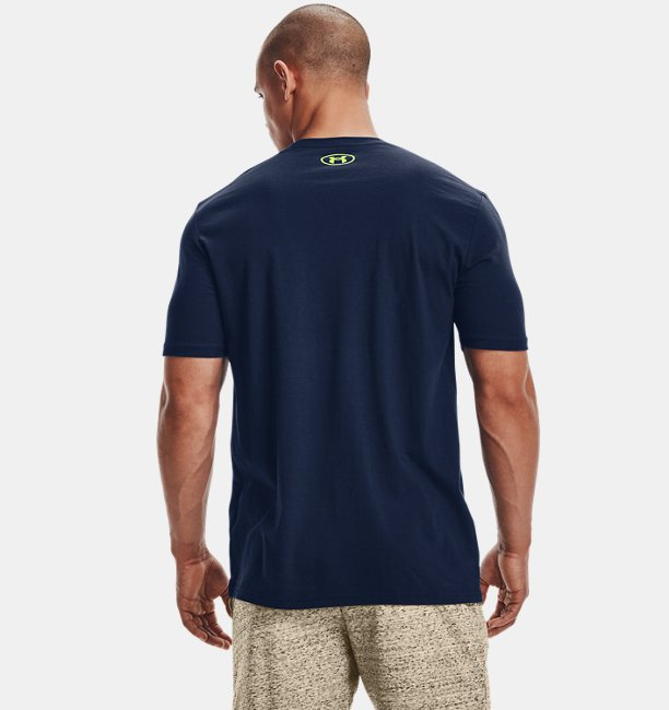 UAショートスリーブ アイランド ウェーブS(トレーニング/MEN)