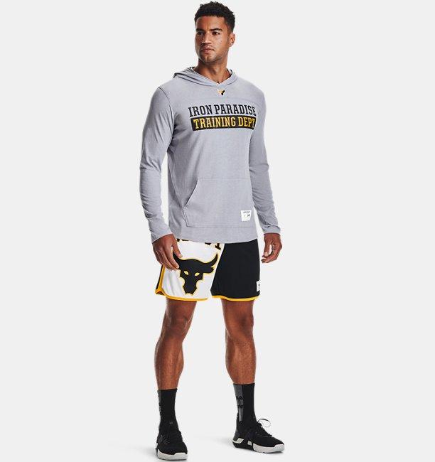Mens Project Rock Long Sleeve T-Shirt Hoodie