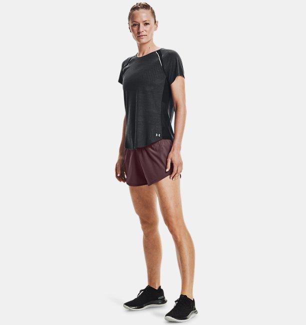 Womens UA Streaker Phantom Run Short Sleeve