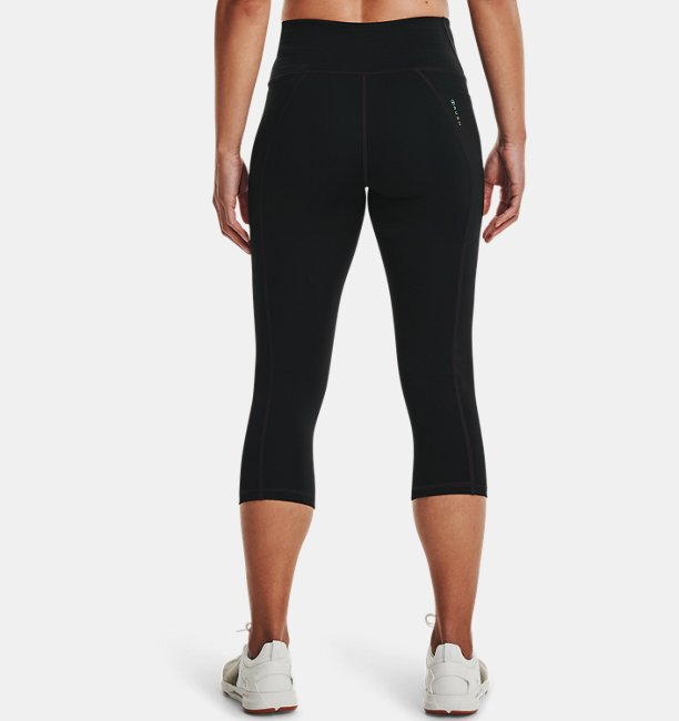 Womens UA RUSH™ No-Slip Waistband Capris