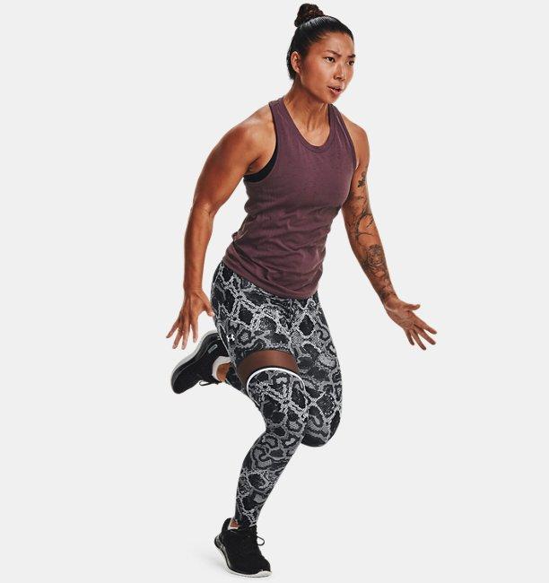 Womens UA Speedpocket Ankle Tights II