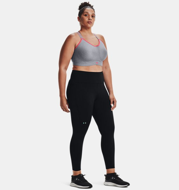 Womens UA RUSH™ HeatGear® No-Slip Waistband Full-Length Leggings