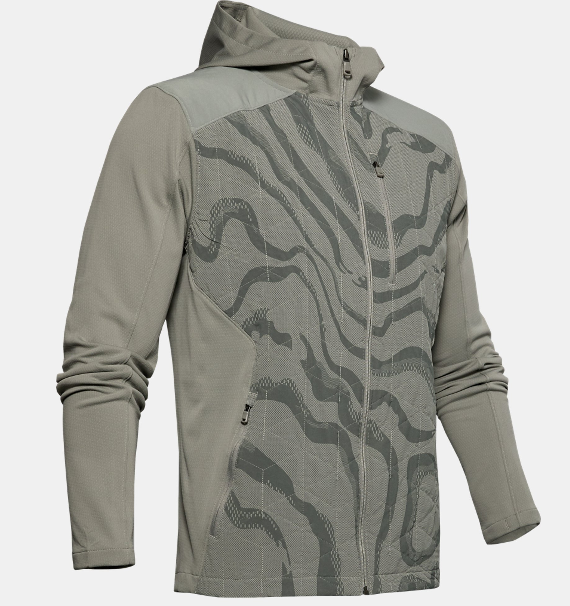 Men's ColdGear® Reactor Hybrid Lite Print Jacket | Under