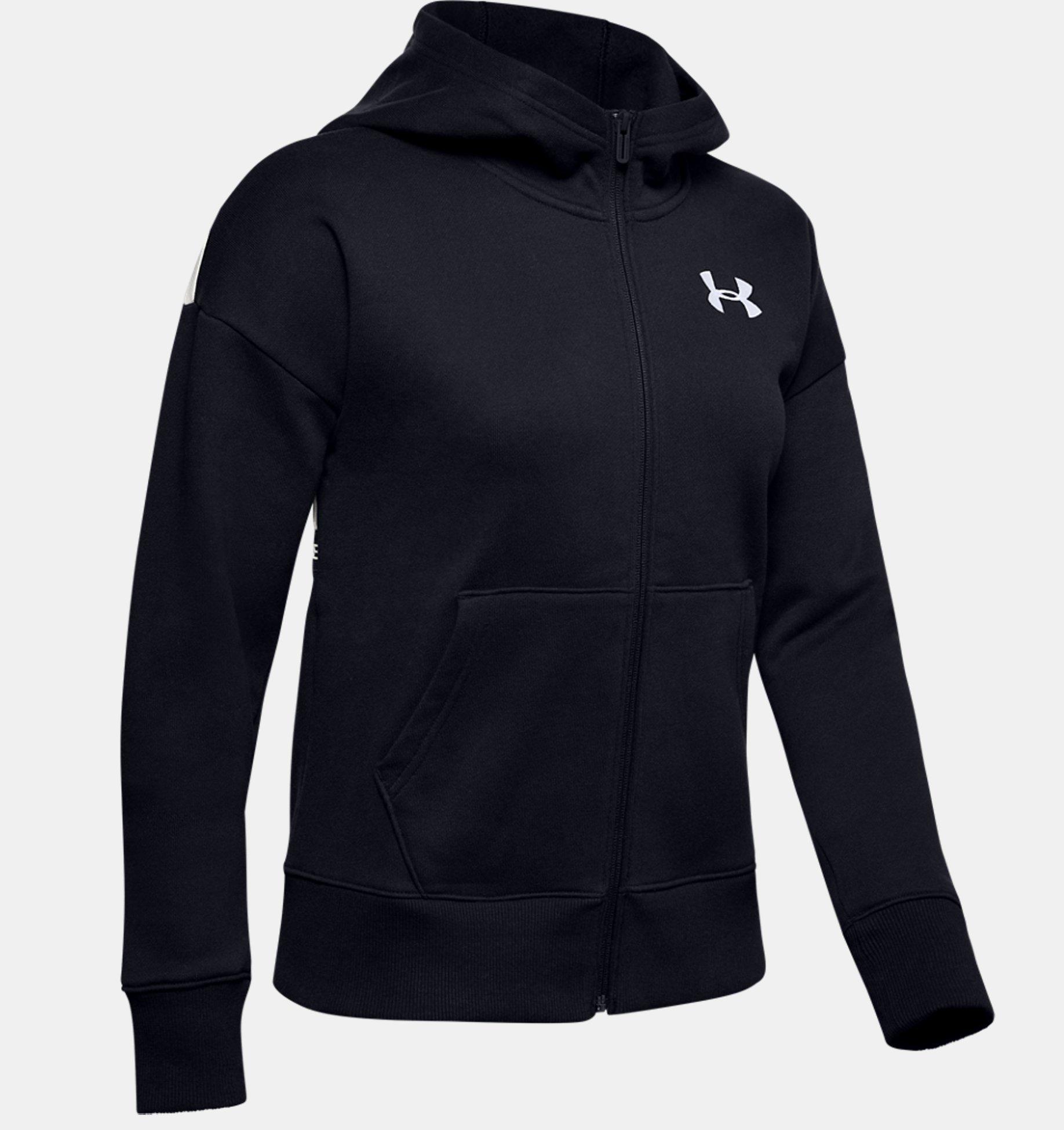 gut aussehen Schuhe verkaufen neue Liste erstklassiger Profi Damen UA Originators Fleece LC Logo Hoodie mit durchgehendem ...