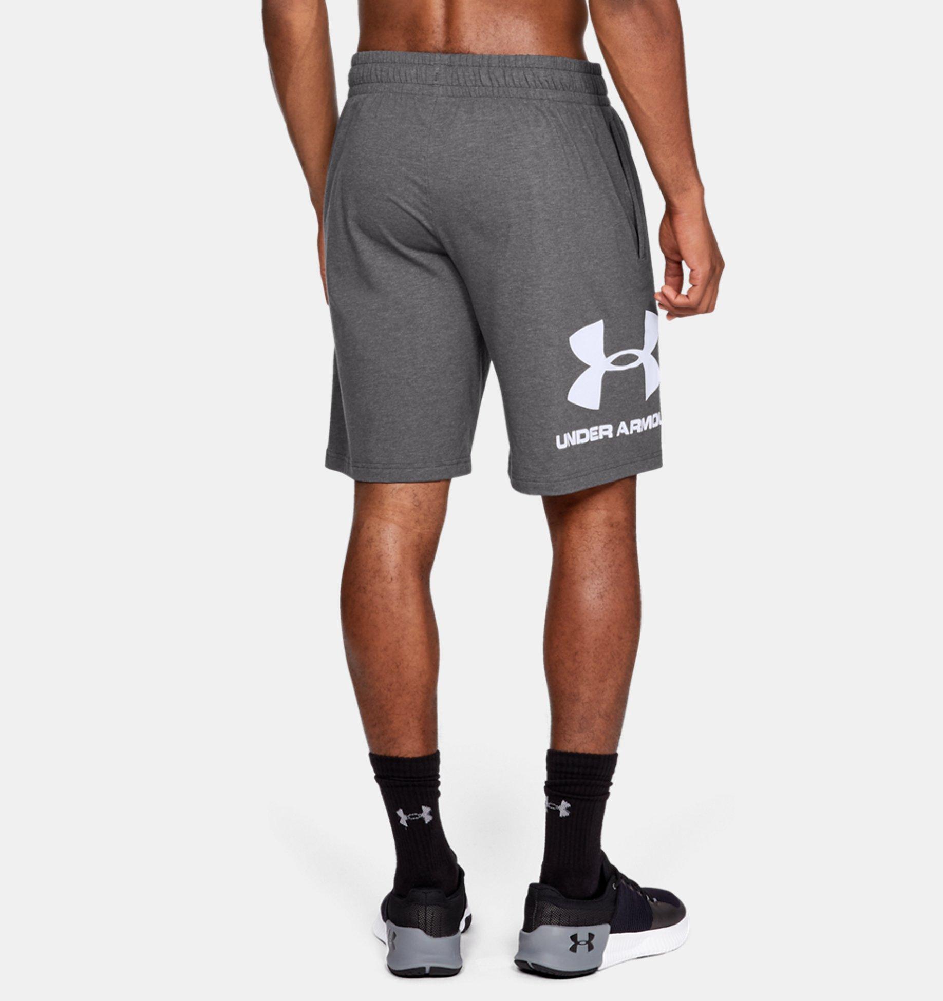 ... Pantalón corto de algodón con gráfico UA Sportstyle para hombre ... 68c45333c637
