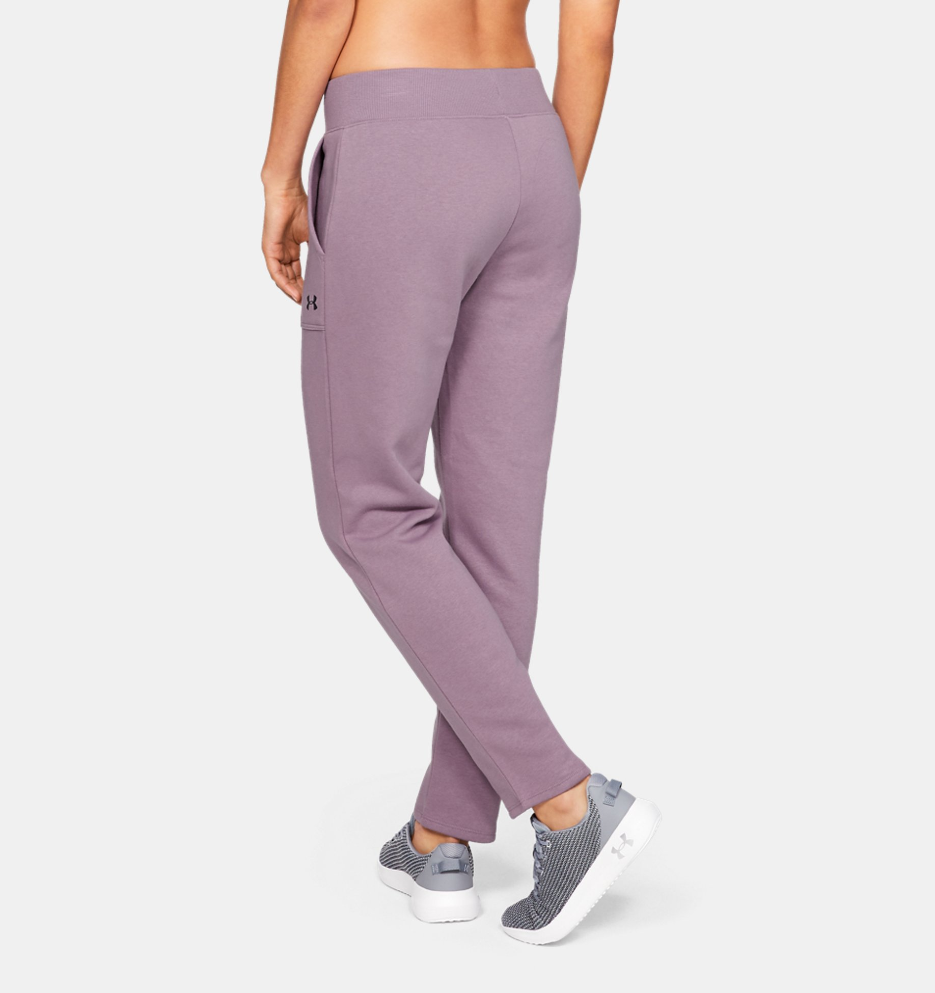 ... Pantalón de tejido Fleece UA Rival para mujer ... 8dff9f1f5cbf