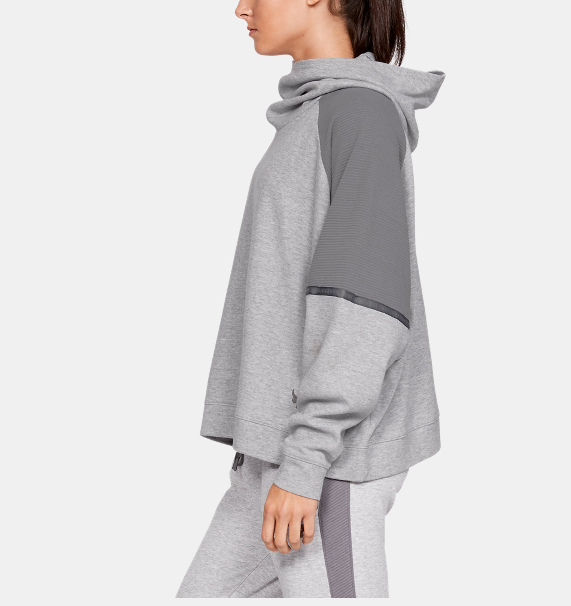 7adf1b0c57d6af ... Women s UA x Project Rock Double Knit OS Hoodie ...