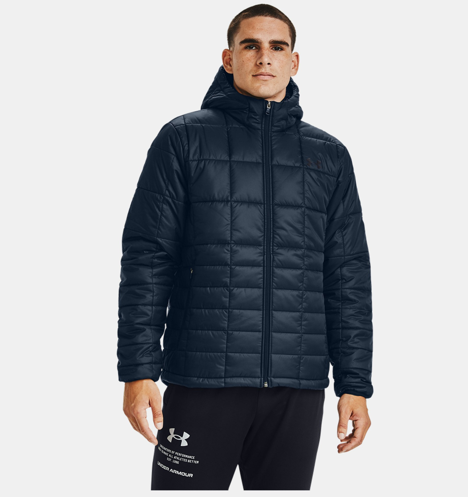 Erkek Ua Armour Insulated Kapusonlu Mont Under Armour Tr