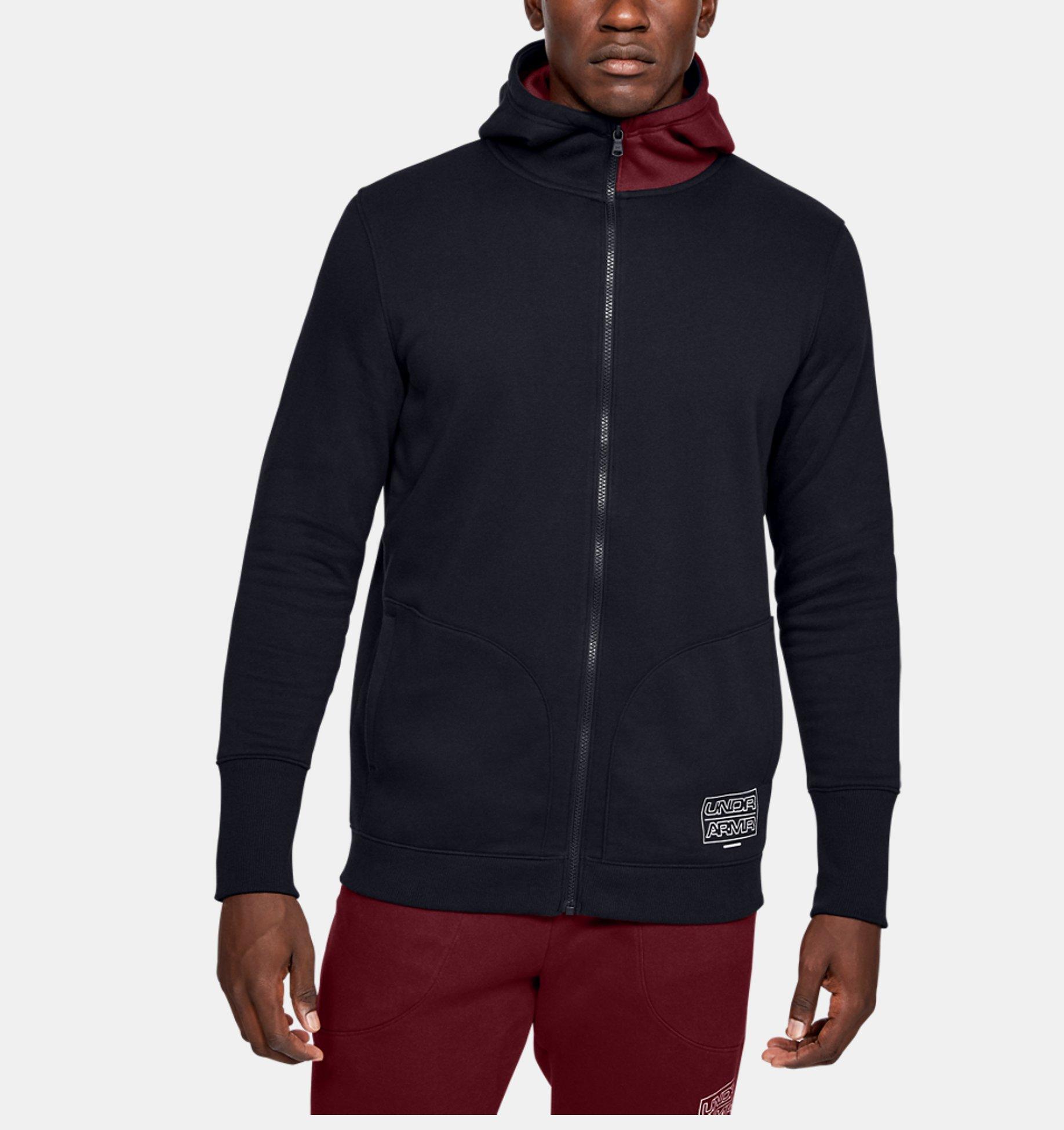Men's UA Baseline Fleece Full Zip   Under Armour PH