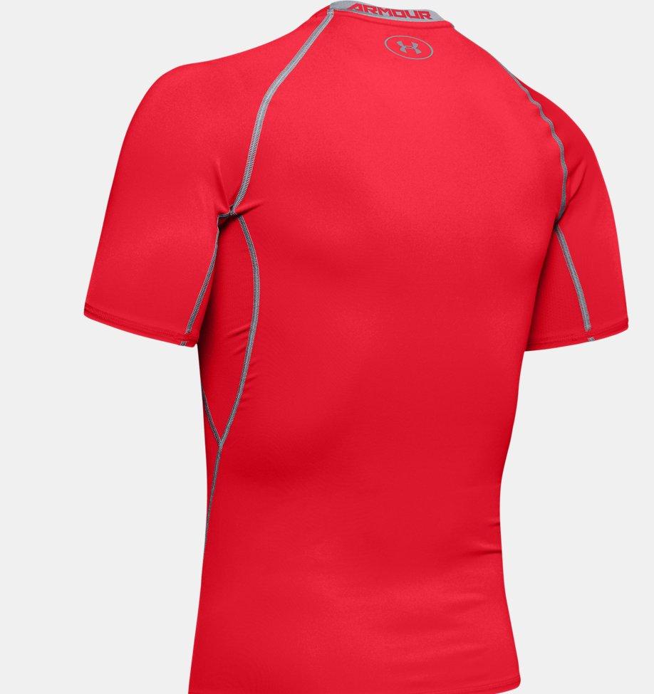 Under Armour - T-shirt Compression UA HeatGear® Armour à manches courtes pour homme - 8