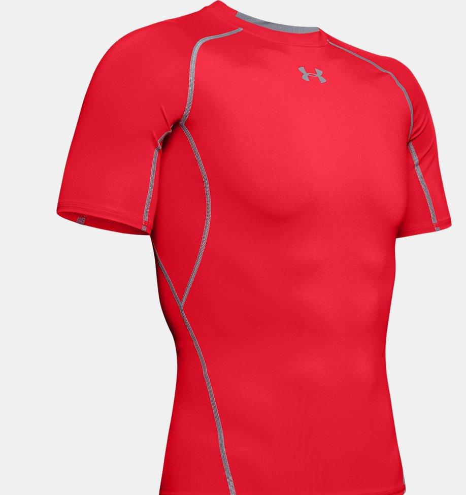 Under Armour - T-shirt Compression UA HeatGear® Armour à manches courtes pour homme - 7