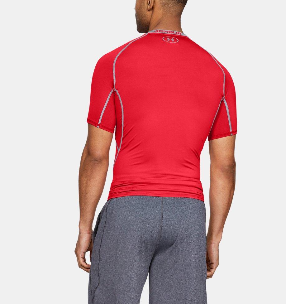 Under Armour - T-shirt Compression UA HeatGear® Armour à manches courtes pour homme - 5