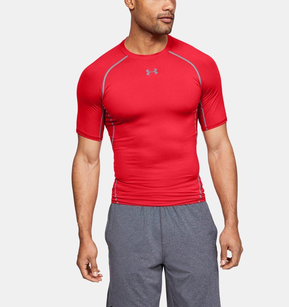 Under Armour - T-shirt Compression UA HeatGear® Armour à manches courtes pour homme - 1