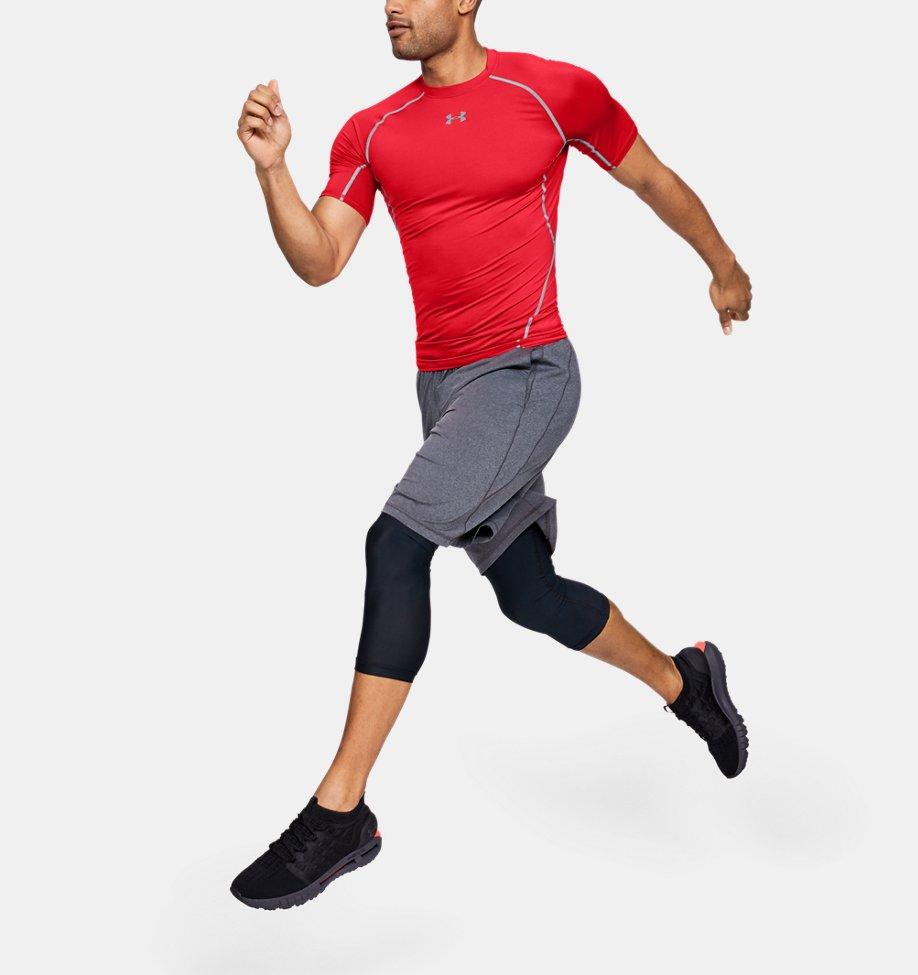 Under Armour - T-shirt Compression UA HeatGear® Armour à manches courtes pour homme - 4