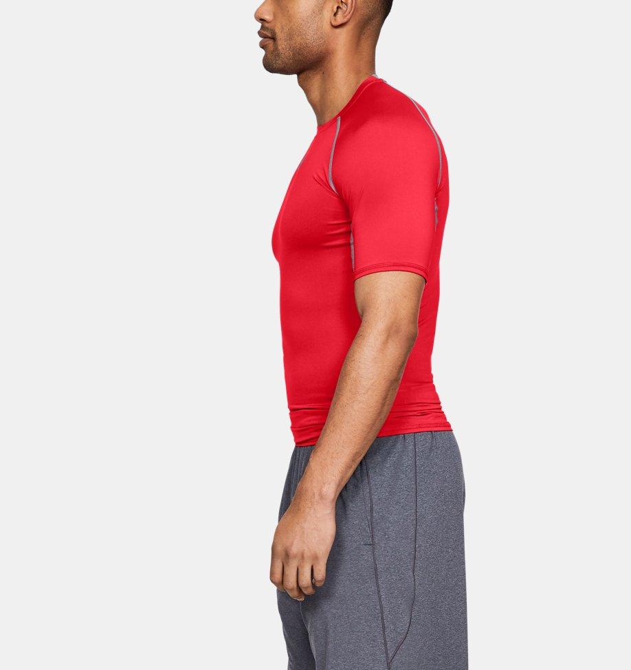 Under Armour - T-shirt Compression UA HeatGear® Armour à manches courtes pour homme - 6