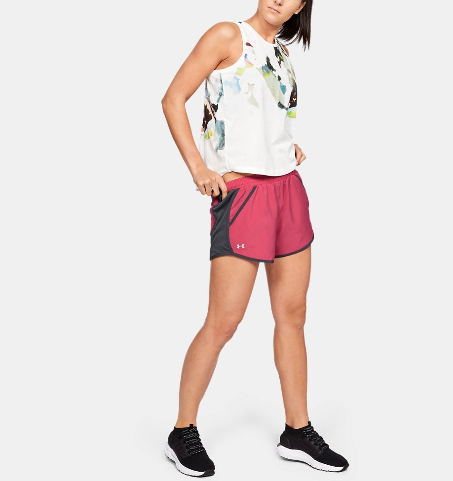 Under Armour - Short UA Fly-By pour femme - 1
