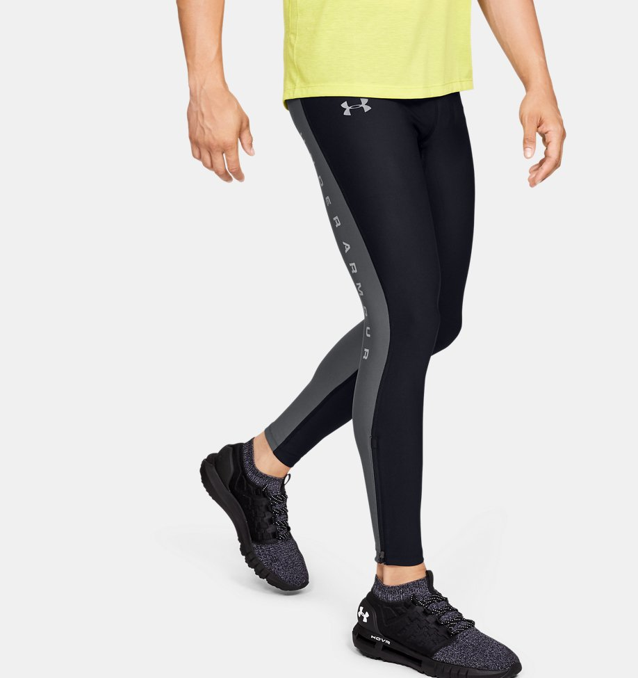 Under Armour - Legging UA Qualifier Graphic pour homme - 1