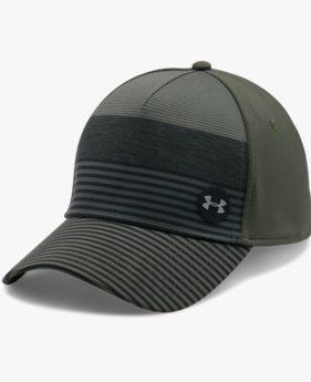 남성 UA 골프 스트라이프 아웃 캡
