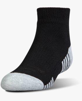 Çocuk HeatGear® Tech Lo Cut Çorap 3'lü Paket