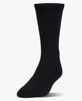 Kids' UA Charged Cotton® 2.0 Crew Socks