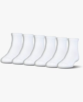UA Charged Cotton® 2.0 Quarter Socks