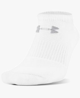 UA Charged Cotton® 2.0 No Show Socks