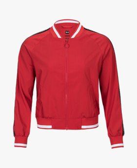 여성 UAS 모달 블락 보머 재킷