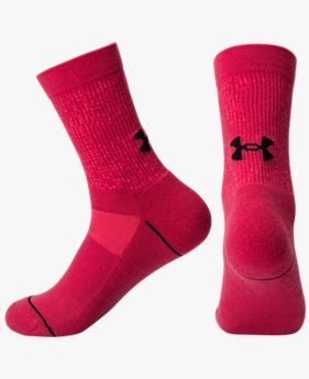 Women's UA Phenom Crew – 3-Pack Socks