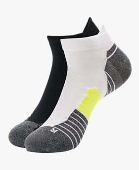UA Run No Show Tab – 2-Pack Socks