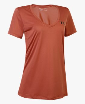 Camiseta de Treino Feminina Under Armour Tech V-Neck WM