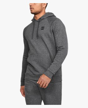 Moletom de Treino Fechado Masculino Under Armour Rival Fleece