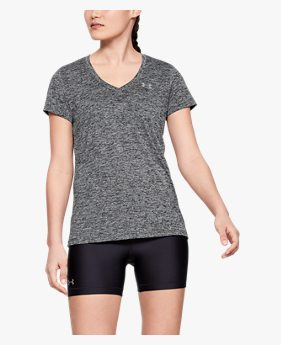 Camiseta de Treino Feminina Under Armour Tech V Neck Twist