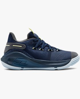 Pre-School UA Curry 6 Basketball Shoes