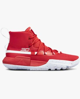 Sepatu Basket Grade School UA SC 3ZER0 II untuk Pria Muda