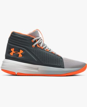 Boys' Grade School UA Torch Mid Basketball Shoes
