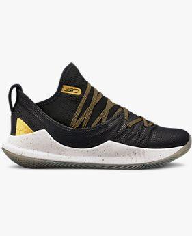 Grade School UA Curry 5 Basketball Shoes