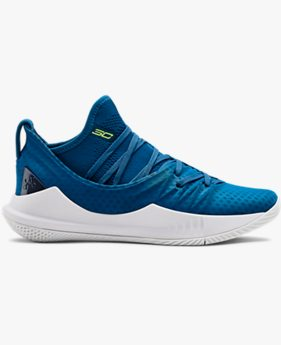 Grade School UA Curry 5 Basketball Shoes