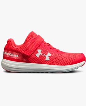 Girls' Pre-School UA Surge RN AC Shoes