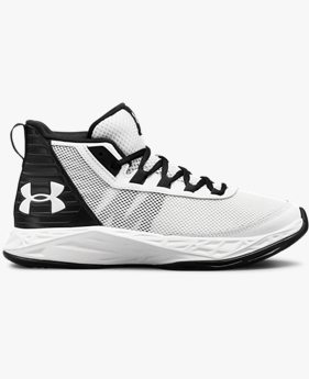Boys' Grade School UA Jet 2018 Basketball Shoes