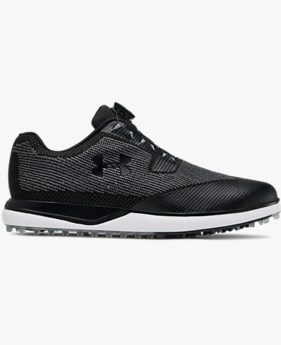 Men's UA Tour Tips Knit SL BOA — Wide (2E) Golf Shoes